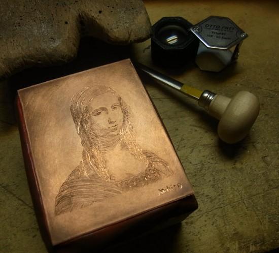 インチジオーネ フィレンツェ彫り 版画